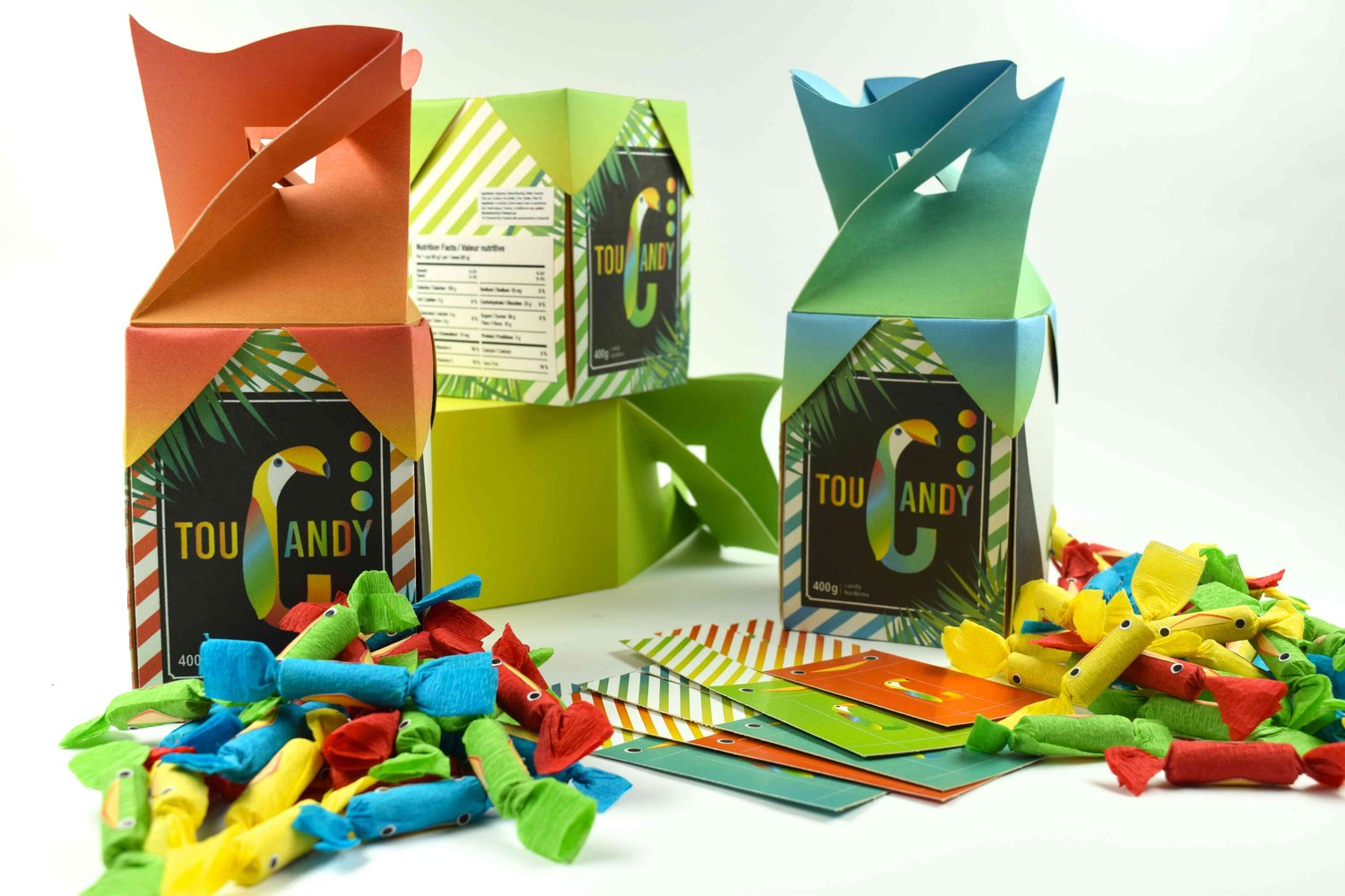 Toucandy Package Design